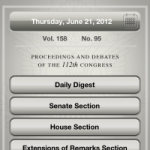 Read the Congressional Record on the go!