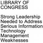 GAO report on Library of Congress